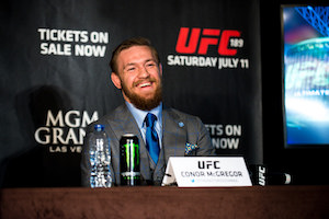 Conor McGregor The Notorius all'Ultimate Fighting Championship a Las Vegas