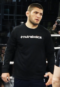 Khabib Nurmagomedov The Eagle all'Ultimate Fighting Championship a Las Vegas