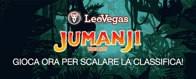 Classifica delle slot di LeoVegas: all'avventura con Jumanji!