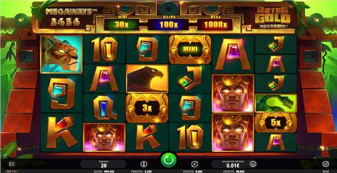 La slot machine Aztec Gold Megaways
