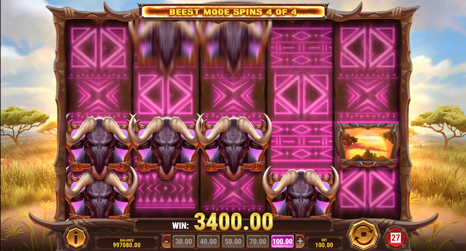 Win-A-Beest - Beest Mode Spins