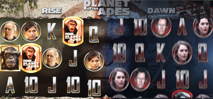 Planet of the Apes - I giochi da casino ispirati a grandi film